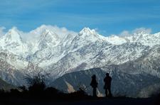 Panchchuli Peaks From Near Munsiyari