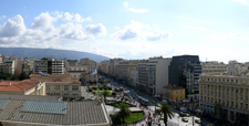 Panepistimiou Street Facing Towards Syntagma Square