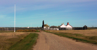 Fort Battleford Panorama