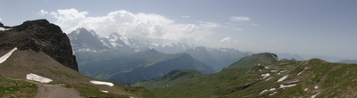 Panoramic View From Faulhorn