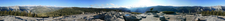 Panoramic View From The Top Of Sentinel Dome