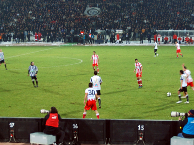 Toumba Stadium Side View