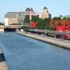 Canal De L'Ourcq From The Parc De La Villette