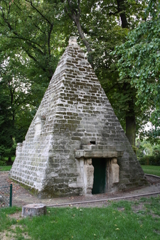 The Egyptian Pyramid In Parc Monceau