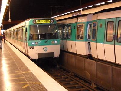 Line 13 At Malakoff - Plateau De Vanves