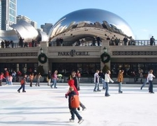 Park Grill Ice Skating