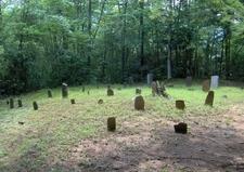 Parton Cemetery In Greenbrier