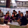Partying At Sho Dun Festival