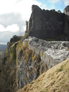 The Cliff Below The Castle