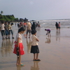 People At Payyambalam Beach