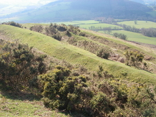 Ramparts Of Pen-y-crug Hill Fort