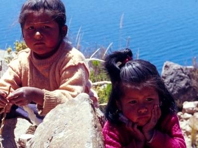 Taquile Lake Titicaca Peru
