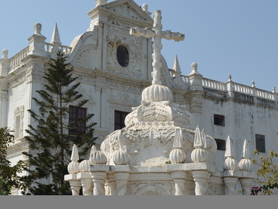 Perspective View Of St Paul Church   Daman And Diu