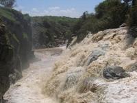 Inundado río