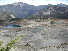 A View Into Seven Lakes Basin