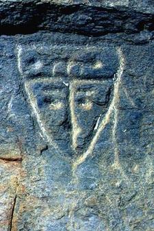 Petroglyphs In Tronconero