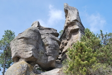 One Of The Rock Formations In Piedras Encimadas