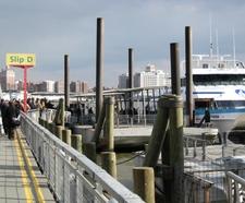 SeaStreak Catamaran At Slip D