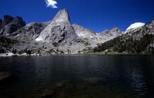 Pingora Peak Rises Above Lonesome Lake