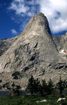 Pingora Peak Is A Popular Climb For Mountaineers