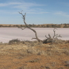 Pink Lakes Salt Lakes In National Park