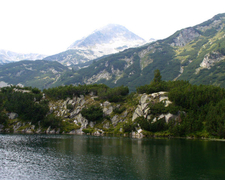 Lake And Marble Peak