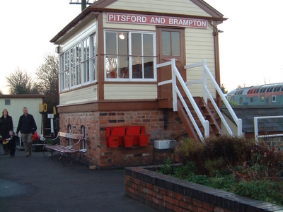 Pitsford And  Brampton Signal Box