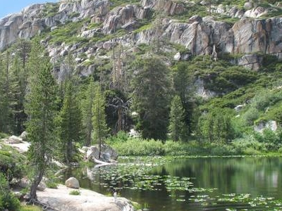 Piute Lake In The Emigrant Wilderness