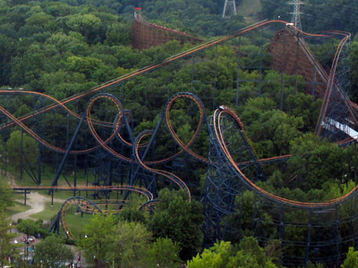 Aerial View Of Vortex