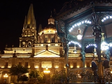 Catedralde Guadalajara Night View