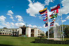 UDLAP's Square Of The Flags
