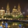Catedralde Guadalajara At Night