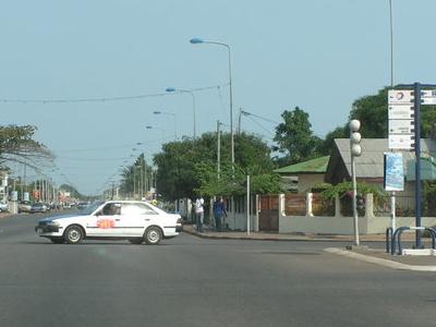 Street In Port Gentil