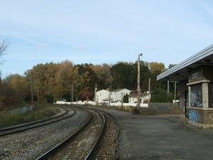 Pointe aux Tiembla la estación de tren