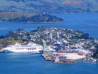 Port Chalmers From The Northeast