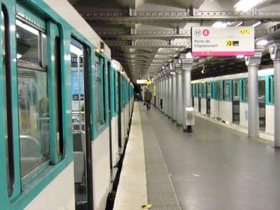 Platforms At Porte D'Orléans