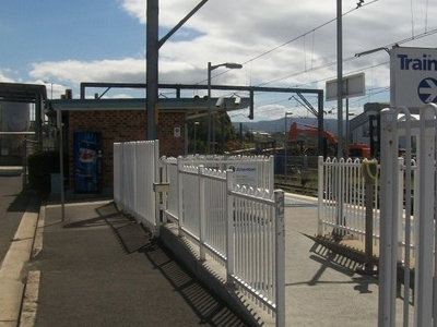 Port  Kembla Railway Station Entrance