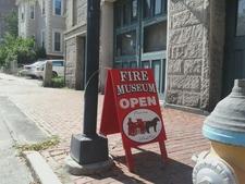 Portland Fire Museum Sign