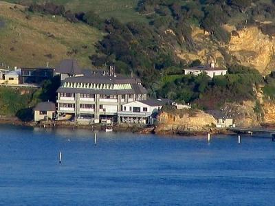 Portobello  Marine  Laboratory From  Port  Chalmers