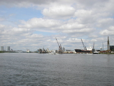 View Of A Portion Of The Port Of Tampa