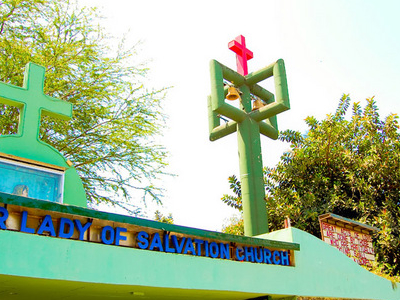 Portuguese Church In Dadar