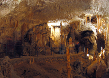 The Karst Cave System At Postojna