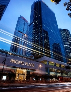 Pacific Place Entrance On Queensway