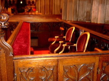 State Pew Of President Of Ireland