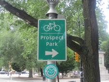 Prospect Park Sign