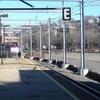 MBTA Train Arriving At Providence