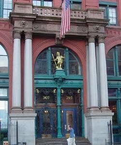 Puck Building Entrance