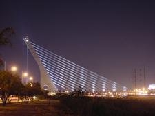 Puente De La Unidad At Night