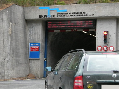 Munt La Schera Tunnel
