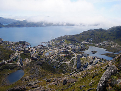 Qaqortoq From The Top